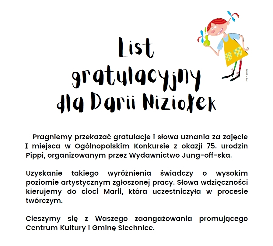 list gratulacyjny_siechnice