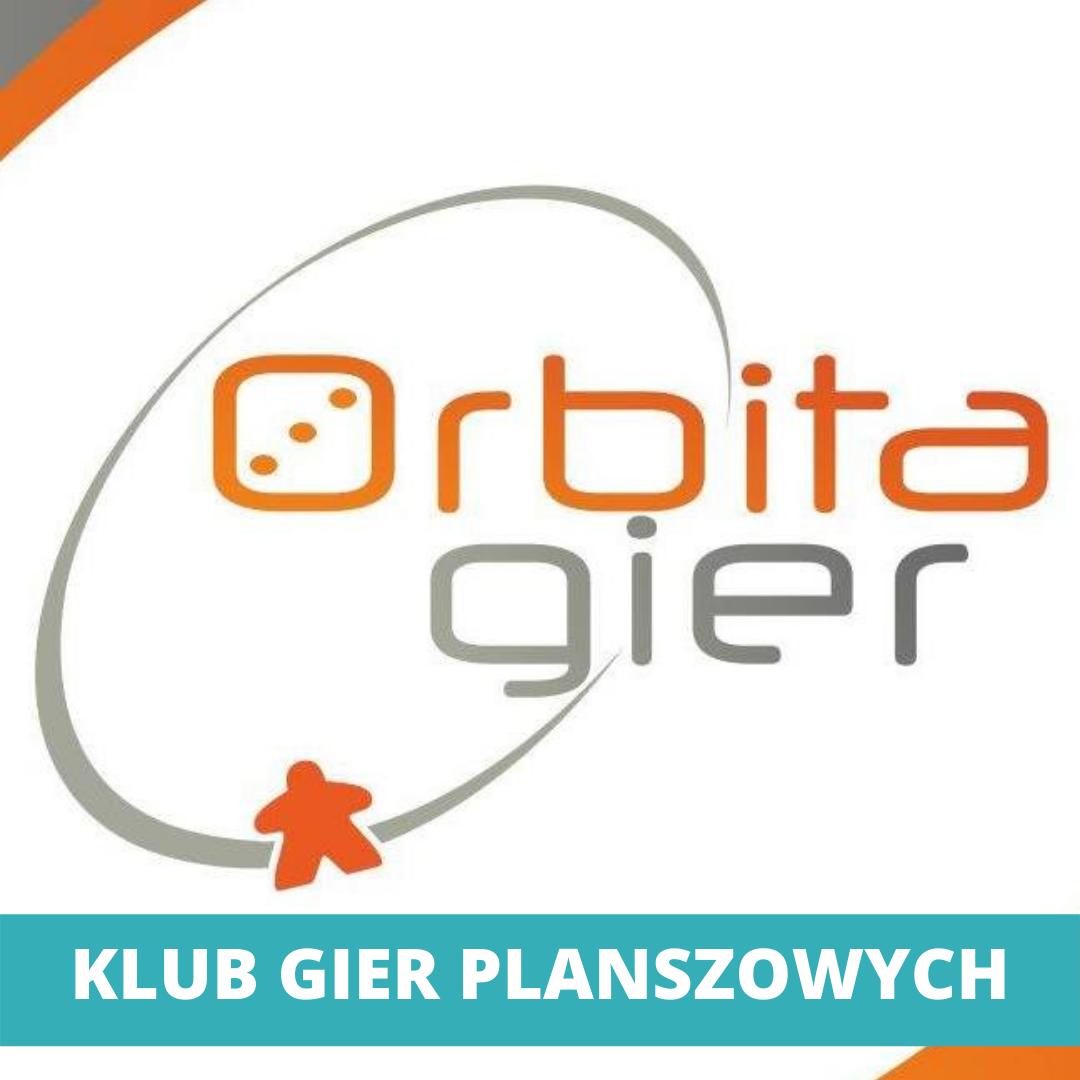 logo Klubu Gier Planszowych - Orbita Gier